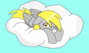 sleepy derpy by cartoonfan88