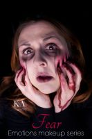 Emotions Makeup Series: Fear by KatieAlves