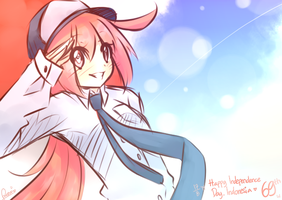 Indonesia Independence Day~ by RozuuShidow