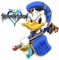 Kingdom Hearts Donald Duck by BW-Straybullet