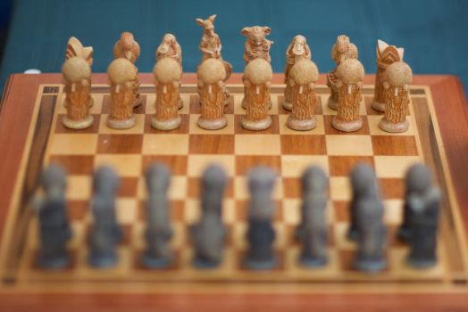 Aussie Chess Set by oliau
