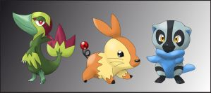 Pokemon starter guess time by shinyscyther