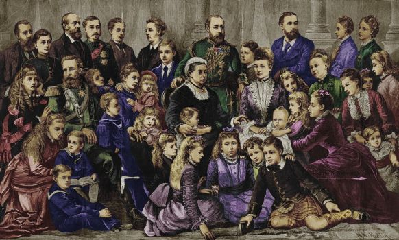 The Family of Queen Victoria by staella