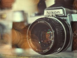 Nikon Old School Wallpaper by ILoveJeph