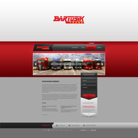 Bartosik trans website and logotype by fuxxo