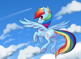 Rainbow Dash by TrippinMars