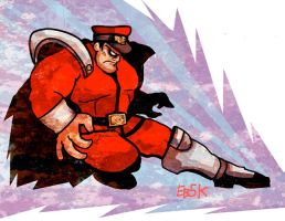 M. Bison by edbot5000