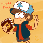 Dipper Pines - Gravity Falls by BizarreAdventures