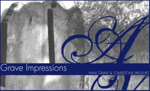 Grave Impressions by AboveVintage