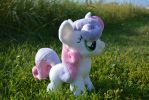 Plushie Sweetie Belle For Sale by RufousCat