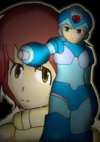 Megaman by ThatChickWithDaPony