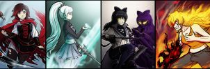 Team RWBY - Vol.4 Quickies by HenLP
