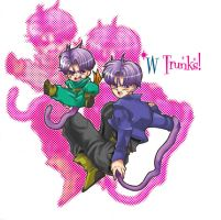 w trunks tail by Natsuhati
