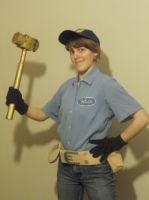 WIR: Felix Cosplay- I Can Fix It by TwilightKeyblade928