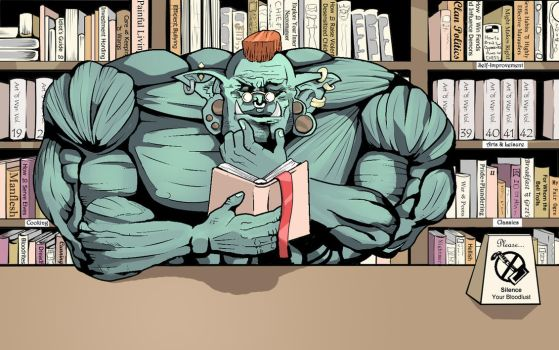Orc Library by JCC113