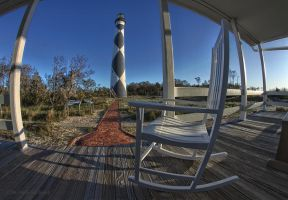 Cape Lookout Porch by pewter2k