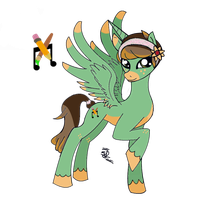 MLP: FiM OC for a Tumblr Mod by Balance-Song
