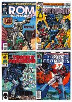 Comic Book Cover Recreation Sketch Cards Set 2 by fbwash