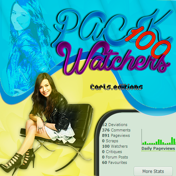 PACK 100 WATCHERS..... by Carls-Editions