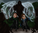 XMFC HP xover: Patronus by ozamham