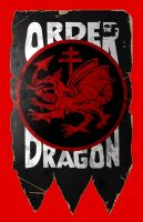 Order of the dragon Flag by 4gottenlore