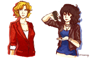 did i just draw genderbent les mis by frecklesmelody