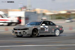 Coloring CorSan Nissan s14 with Corvette Engine by DKLG