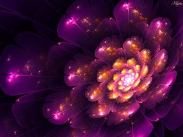 Purple and gold by Klytia70