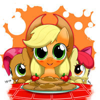 apple fritter? by hoyeechun