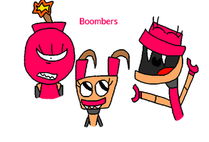 Mixels - The Boombers by worldofcaitlyn
