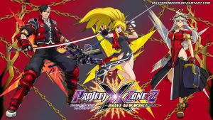 Project X Zone 2 wallpaper - Shinra Agents by MasterEni2009