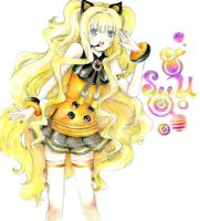 SEEU vocaloid 3 colored by ButterflyWingies