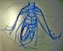 Batman Sketch by Shigurui