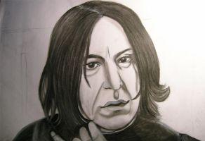 Snape WIP2 by GothBarbie