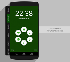 Smart Launcher Theme Green by Karsakoff