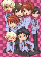 Ouran High School Host Club by spuds-n-stuff