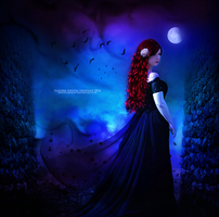 Lady of the Shadows by MysticSerenity