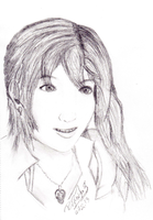 Serah Sketch by aiRoy17