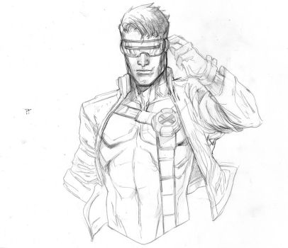 Cyclops jim lee by Peter-v-Nguyen