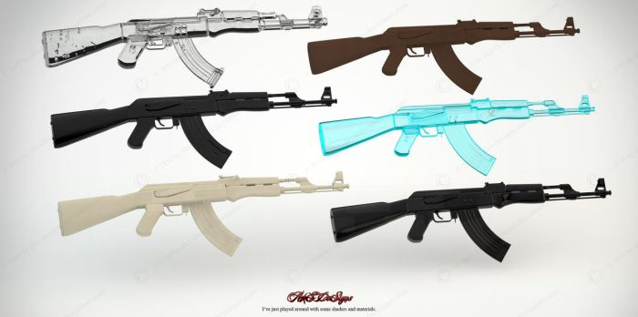 AK47's by Aks-Designs