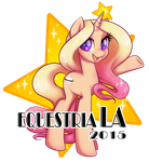 Star Struck ~ Equestria LA 2015 by onnanoko