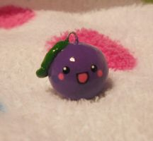 Cute Happy Plz Grape Charm by Panduhmonium