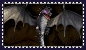 HTTYD Skrill Fan Stamp by MorkelebTheDragon