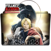 Fullmetal Alchemist Brotherhood Icon by KSan23
