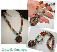 Honu Necklace by CrysallisCreations