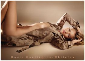 Rosie Huntington - Whiteley by luvart2