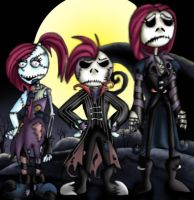 ::-The Skellington Kids-:: by Starimo