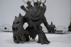 Maokai The Twisted Treant Sculpture by snakestorm44