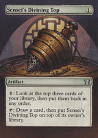 Altered Sensei's Divining Top by Rolzor