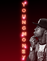 Young Money Typography by TheSaffy